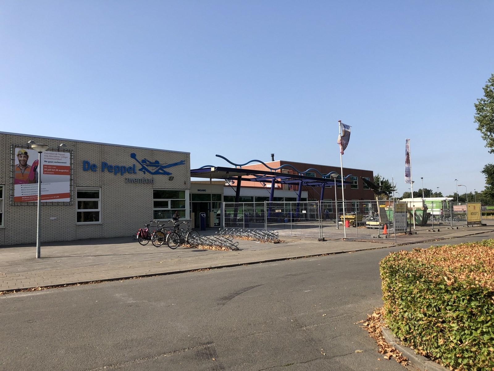Zwembad De Peppel : Verbouwing zwembad de peppel u bouwbedrijf kreeft